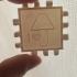 Polypanels 'I Love Lamp' Lithophane image