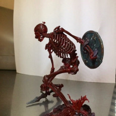 Picture of print of Evil Skeleton Warrior