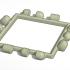 Polypanels Square Lithophane Blank Model image