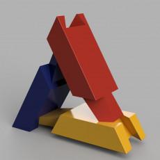 Puzzle en 3 pieces