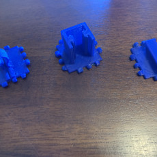 Picture of print of Special Polypanels for 20 by 20 Extrusions in 3D printers