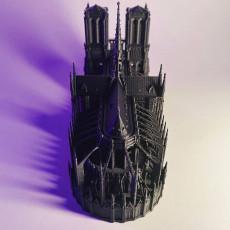 Picture of print of Notre-Dame de Paris Cathedral