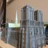 Notre-Dame de Paris Cathedral print image