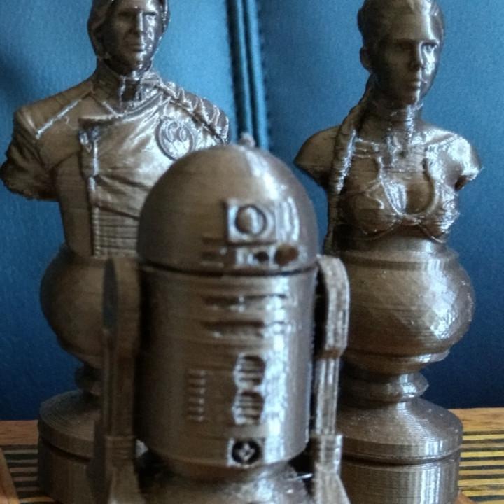 Star Wars Chess Set Revised