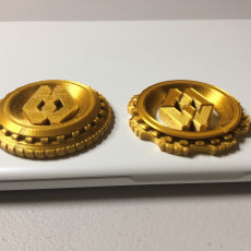 Picture of print of Maker Coin - MiniWorld 3D