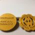 Maker Coin - MiniWorld 3D print image
