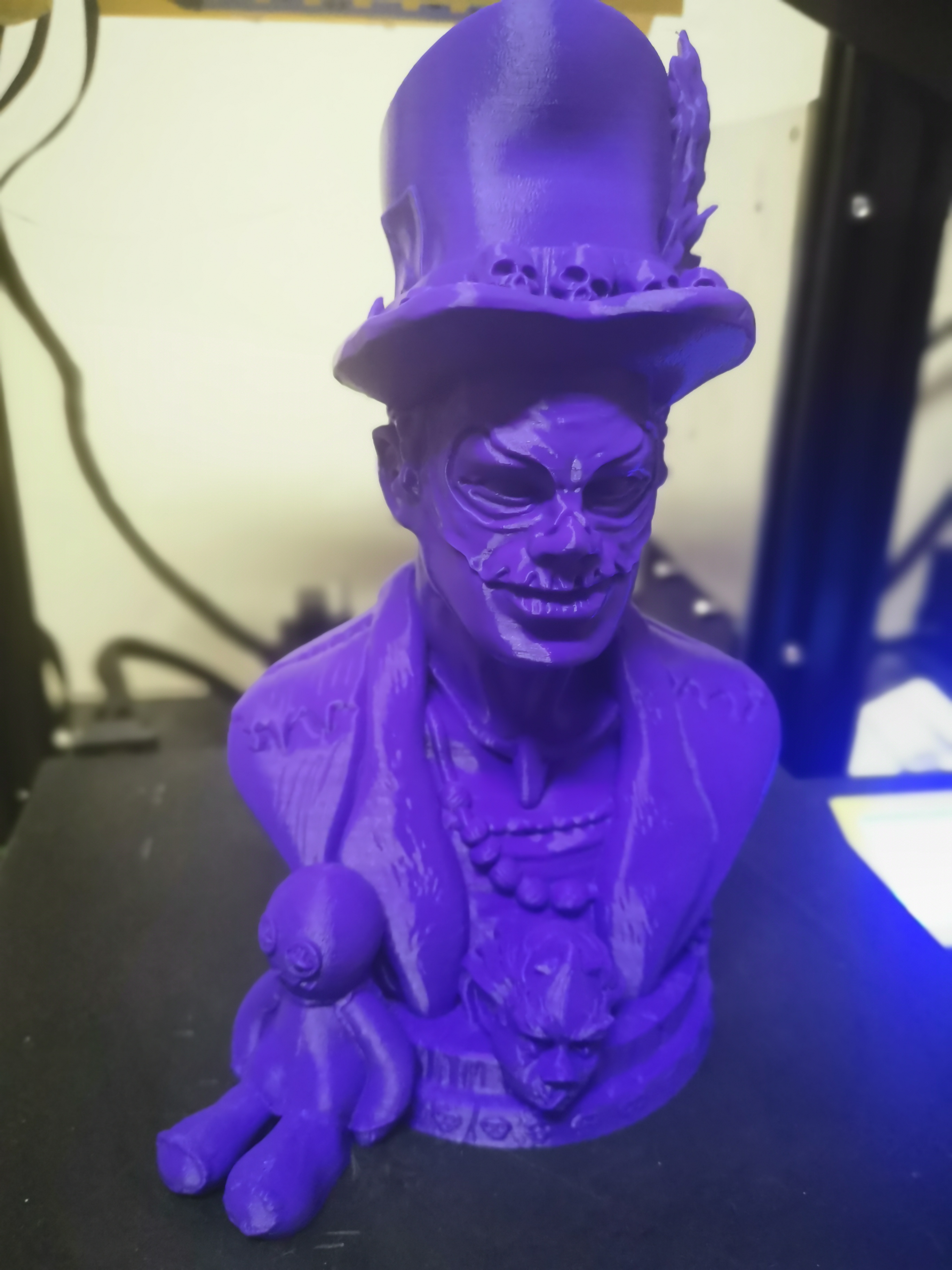 3D Printable Voodoo Priest by Vedran Marjanović