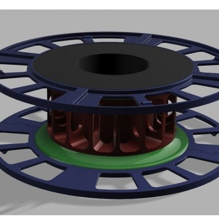 TB-Filament-Spool printable on small printbeds