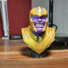 Picture of print of Thanos Bust From Avengers: Endgame