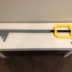 Picture of print of Kingdom Key – Yet Another Keyblade