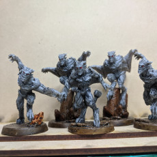Picture of print of Gargoyles - Complete Set