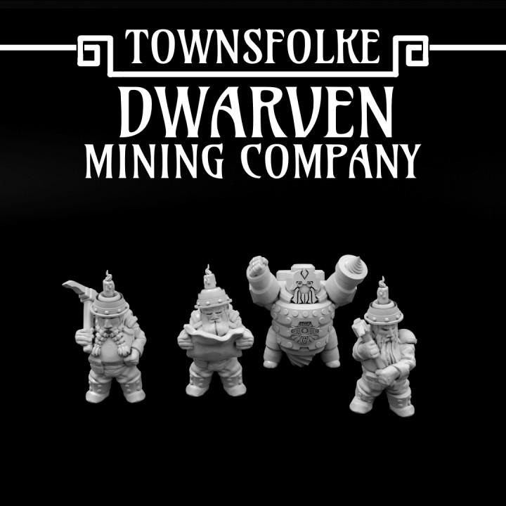 Townsfolke: Dwarven Mining Company