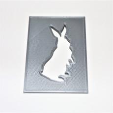 Bunny Stencil #1