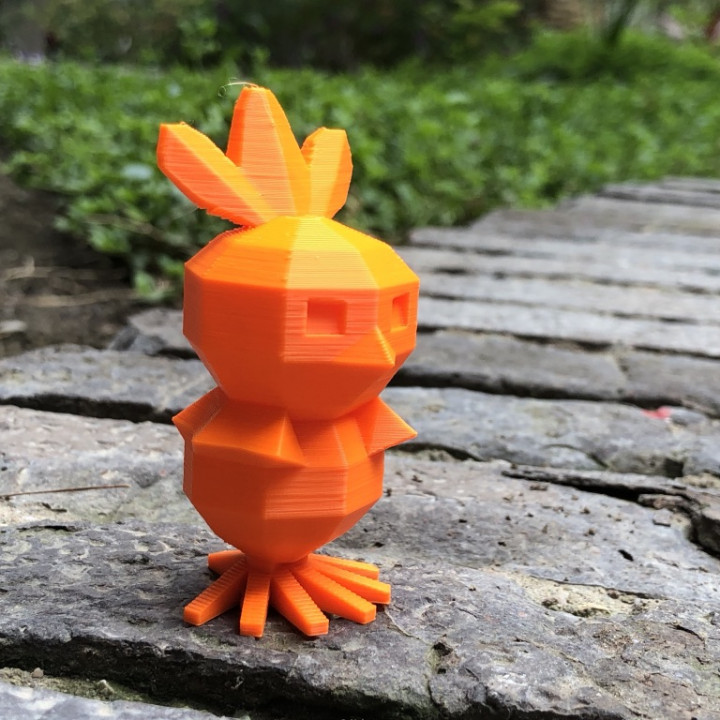 Low Poly Torchic