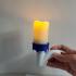 Candelabra - Candle Holder - Halloween Prop image