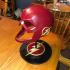 The Flash helmet stand logo image
