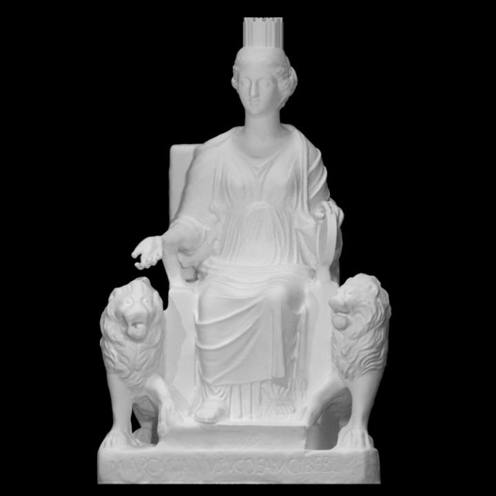 Enthroned Cybele
