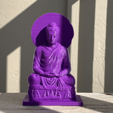 Picture of print of Buddha Seated in Meditation Этот принт был загружен Philippe Barreaud