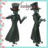 Black Hat (Villainous) Fanfigure image