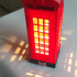 London Telephone Table Lamp image