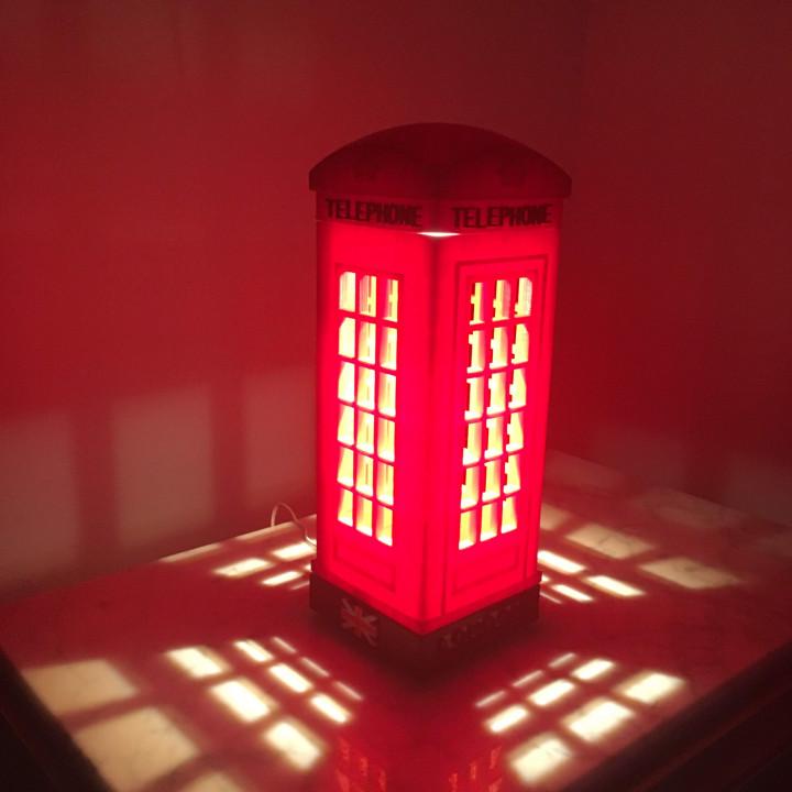 London Telephone Table Lamp