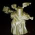 Dwarf with warhammer print image