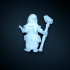 Dwarf woman rune mage image