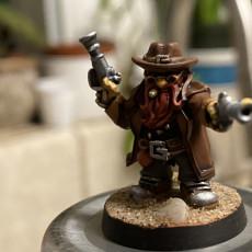 Picture of print of Gunslinger dwarf