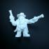Gunslinger dwarf print image