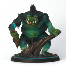 Picture of print of River troll