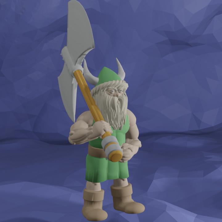 Gilius Thunderhead from golden AXE