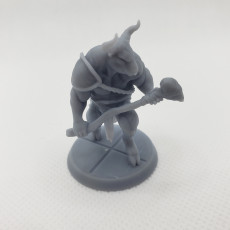 Picture of print of Minotaur - Tabletop Miniature