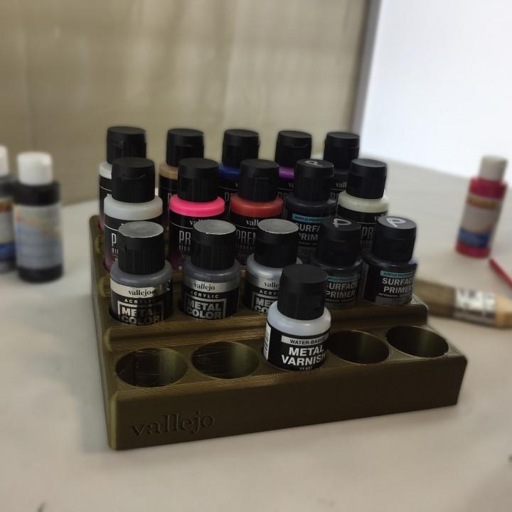 Vallejo Airbrush Bottles Stand - Critter Hitters