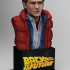 Marty McFly Bust image