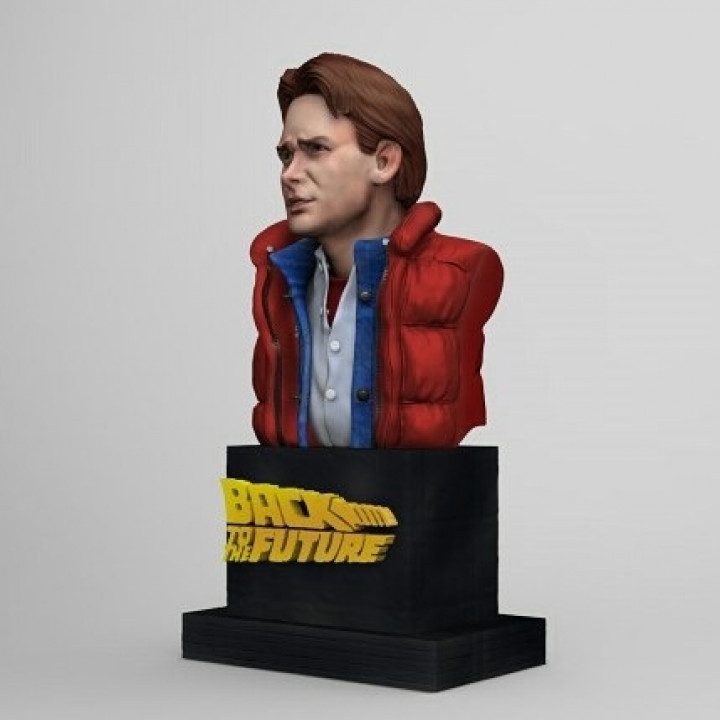 Marty McFly Bust