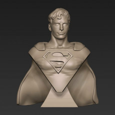 Superman Chris Reeve Bust