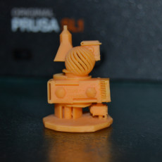 Picture of print of 3DPIAwards trophy