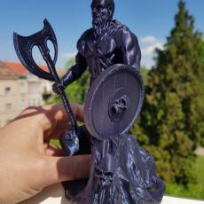 Viking Barbarian Sculpture