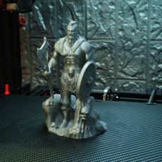 Picture of print of Viking Barbarian Sculpture