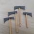 Toothpick Tomahawks (1:18 scale) image