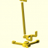 Guitar Stand (1:18 scale) image