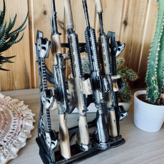 Picture of print of Gun Rack