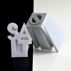 Salt and Pepper Text Shakers