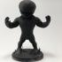 3d printed Chibi Venom fanart figurine image