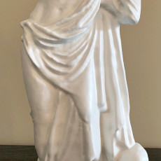Picture of print of Statue of Asclepius