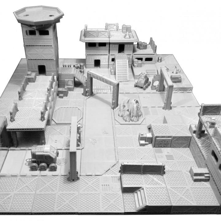 Industrial Sector Omicron - Huge Tiles Bundle
