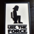 Decoration Plate - Use the force image