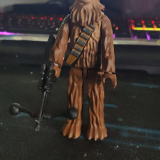 Picture of print of Chewbacca