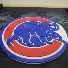 Chicago Cubs Wall Design