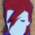 David Bowie Light Up Wall Mount image